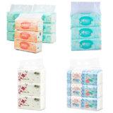 Macchina per l'imballaggio delle merci del fazzoletto per il trucco dei 8 pacchetti