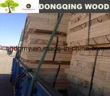 madera contrachapada del LVL del álamo (de la madera de construcción laminada de la chapa) para las paletas