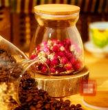 Bello vaso del caffè della bottiglia di immagazzinamento in il vaso della caramella di vetro di Borosilicate della cucina del vaso di memoria del tè