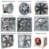 Ventilatore di scarico centrifugo della cambiale in opposizione per la serra