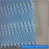 Lingettes non tissées en viscose colorées / Polyester Spunlace en rouleau