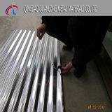 tôle d'acier ondulée galvanisée par -0.8mm de 0.12mm