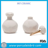 Бутылка питья малого керамического дух вина воды декоративного холодного многоразовая
