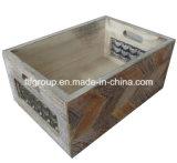 Caliente-Venta del rectángulo de almacenaje de madera del nuevo diseño