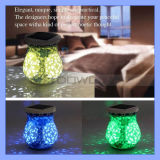 Vorzügliches Christmas Ceramic Blue und White Porcelain Solar Decoration Gift Lamp Light