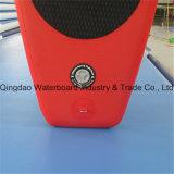 Rote Farben-Entwurfs-aufblasbarer Paddel-Brandung-Vorstand für Verkauf