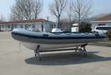 Aqualand 16feet 4.70m 섬유유리 늑골 배 또는 엄밀한 팽창식 어선 (RIB470A)