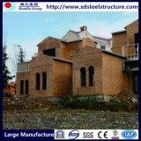 Панельный дом здания стальной структуры рамки света широкой пяди