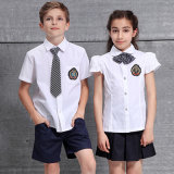 All Grades Primary&Middle& University School Uniformsのための安いSchool Uniforms Shirt