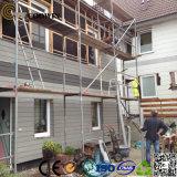 屋外の防水のどの木製の壁の羽目板
