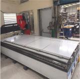 Почищенная щеткой черная алюминиевая составная панель