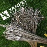 Corda de fio de aço inoxidável 304 com gancho simples