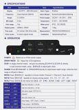 7 인치 TFT 듀얼-채널 음향기, Dual-Frequency, 항법적인 에코 음향기