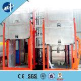 Alzamiento del elevador de estante y del piñón del emplazamiento del alzamiento de la construcción del Sc Zhangqiu/de la obra/material del edificio y de construcción