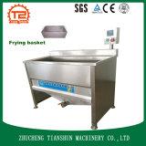 Vaschetta di frittura e friggitrice con acciaio inossidabile che frigge nel grasso bollente cestino