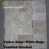 Het Bedekken van de Vloer van de Kleur van de Travertijn van Wellest de Natuurlijke MultiTegel van de Steen van de Muur van het Patroon van de Muur van de Tegel Decoratieve