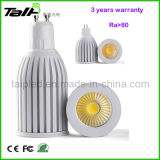 2013 nuovo Design 5W GU10 COB LED Spotlight