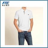 カスタムポロのTシャツの100%年の綿のTシャツ