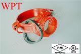 Тройник FM Approved перечисленный UL продетый нитку механически