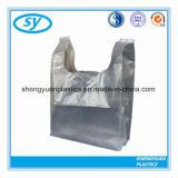 عادة [رسكلبل] يطبع زاهية بلاستيكيّة [ت-شيرت] حقائب لأنّ تسوق