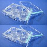 Placa bioquímica transparente da reação do laboratório estéril descartável