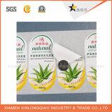 Anti-Falsificación de la etiqueta engomada impresa impresión de sellado caliente del holograma de la escritura de la etiqueta del laser