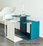 Uispair 100%の鋼鉄現代側面タイプオフィスのホーム生きている食堂の寝室のコーヒー机