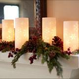 Hospitalidad casera elegante de la decoración usar vela del LED