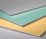 Алюминий панели плакирования стены панели Aludong PVDF алюминиевый составной покрывает алюминиевые плиты
