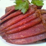 Kochen der Maschine für Rindfleisch mit orange Schale