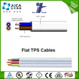 Aus/Nz Market Flat TPS Cable Flat Electrical CableのためのSAA Certified Solid Core
