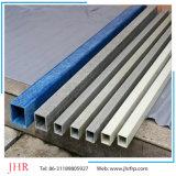 正方形および長方形のPultrudedのガラス繊維GRPのプラスチックプロフィール