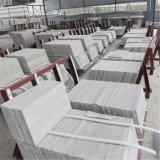 Nuevas losas de madera grises de madera del mármol del grano, mármol de madera gris claro