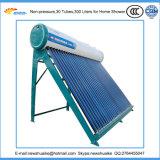 Nicht Druck-Solarwarmwasserbereiter mit realen Materialien