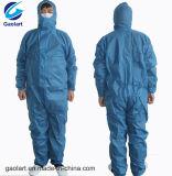 기업에 사용되는 Spunbond 파란 짠것이 아닌 작업복 또는 처분할 수 있는 작업 바지