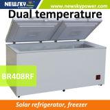 Refrigerador y congelador solares de la alta calidad con 408 litros