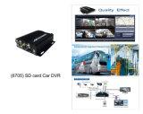 4channel автомобиль передвижное DVR автомобиля DVR/GPS (HT-6705)