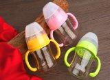 botella que introduce del bebé 120ml hecha del alto vidrio de Borocilicate