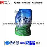 液体の洗濯洗剤のための習慣によって印刷されるプラスチック口の袋