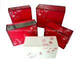 Caixa de presente rígida Foldable luxuosa do papel da folha do cartão (YL-F204)