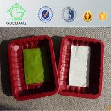 As amostras livres vendem por atacado bandejas pequenas do indicador da carne com almofadas absorventes