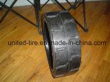 وسادة إطار, [برسّ-ون] إطار صلبة, صلبة وسادة إطار العجلة