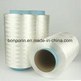 Отрежьте упорным пряжу UHMWPE покрынную волокном для анти- перчаток отрезока (цвет UA красный)