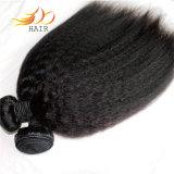 Tessuto naturale diritto crespo dei capelli di colore #1b dei capelli vietnamiti del Virgin