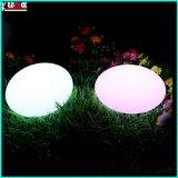 Iluminación de la Navidad de la lámpara del huevo del escritorio del soporte del LED con 16 colores