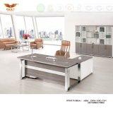 Melamine新しい方法設計事務所の家具L形リターン(H70-0165)の管理の現代ディレクター事務机のオフィス表