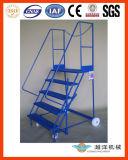 Mobile de aço Platform Ladder para Order Picker (OP-S)