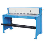 Machine de tonte de plaque métallique de feuille du cisaillement Q01-2X1000 de pied en métal