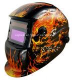 Mascherina/casco di scurimento automatici della saldatura di sicurezza registrabile su ordinazione poco costosa