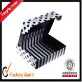 Rectángulo de regalo de encargo al por mayor del papel de la alta calidad, caja de presentación, rectángulo del cartón, rectángulo de empaquetado acanalado (LP031)